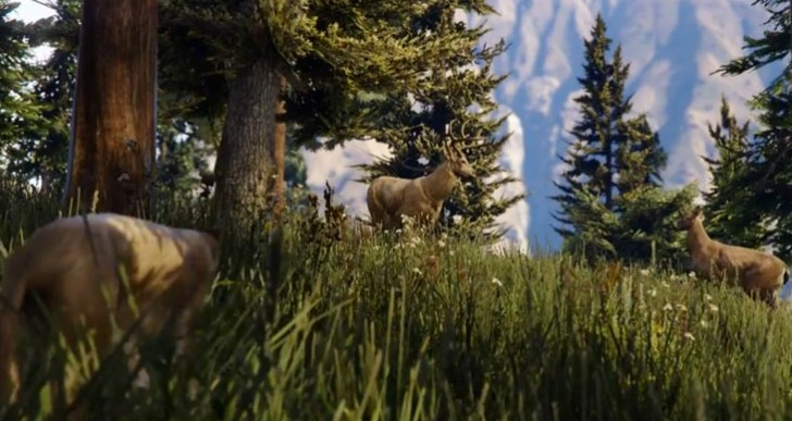 New GTA V wildlife in PS4, PC, XB1 trailer