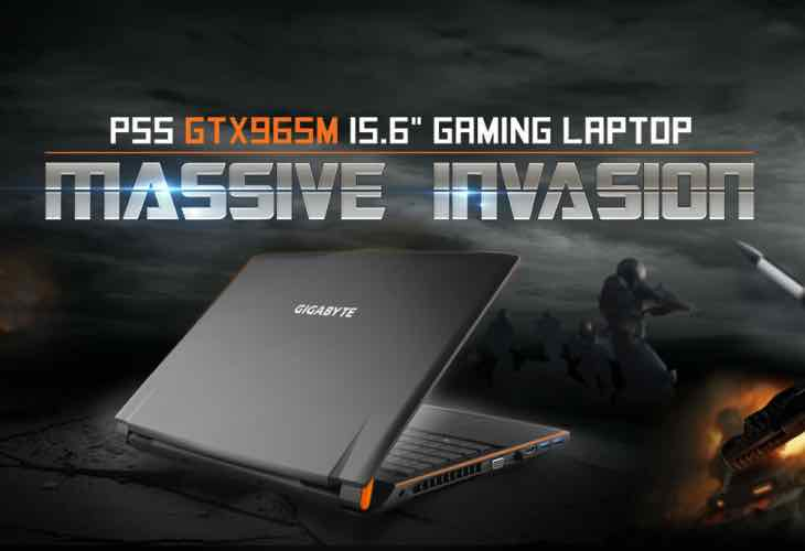 New Gigabyte P55K gaming laptop specs