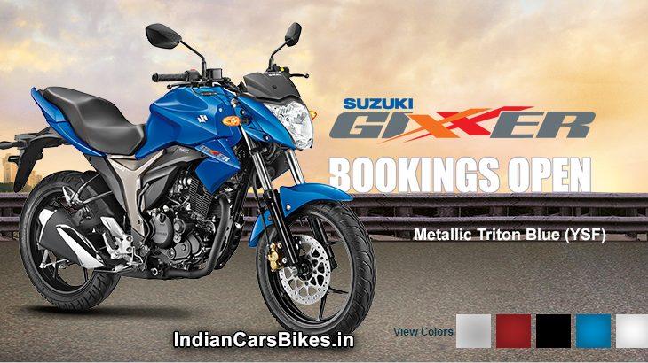 New Gixxer 155 Suzuki bike