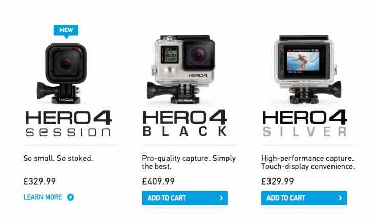 New GoPro Hero4 Session