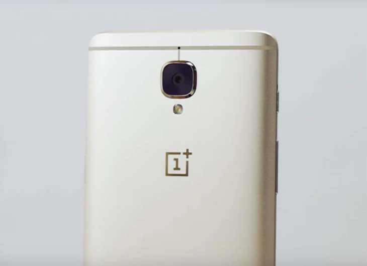 New Gold OnePlus 3 color
