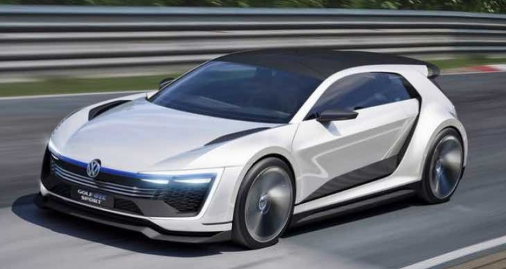 New Golf GTE Sport pays homage to DeLorean