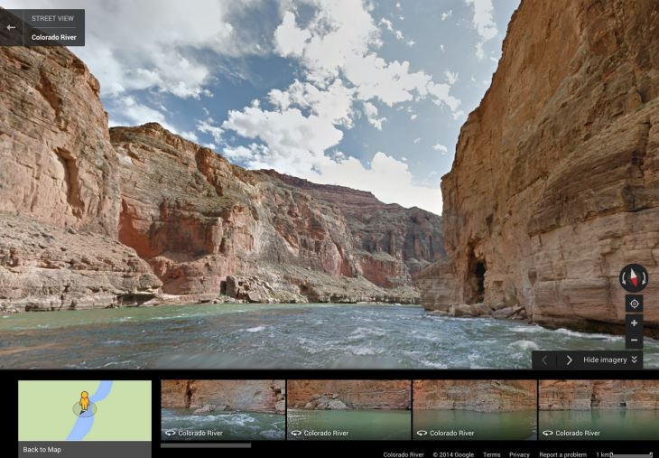 New Google Maps Street View imagery for tourism
