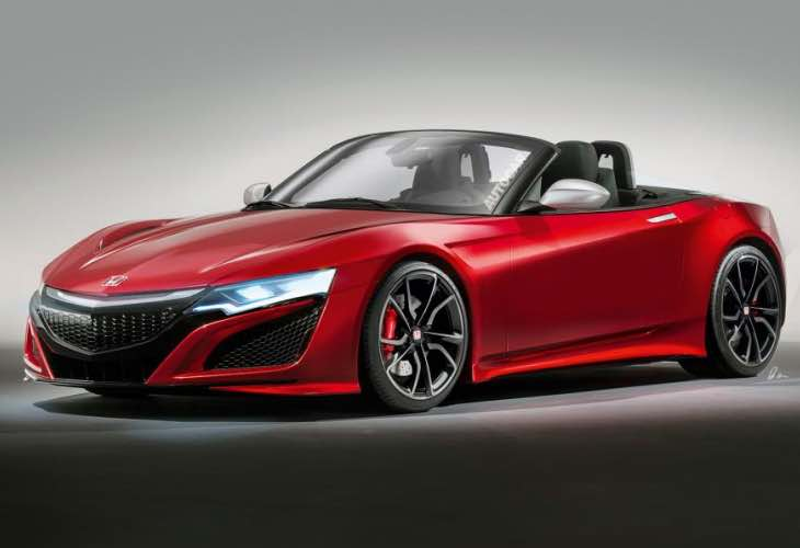 New Honda S2000, a Mazda MX-5 and Fiat 124 Spider ...