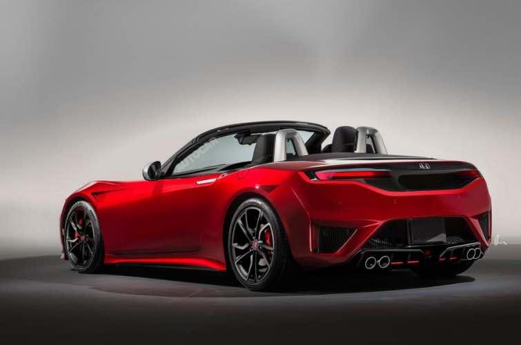 New Honda S2000 release