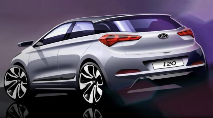 New Hyundai i20 exterior revealed, skips tech specs