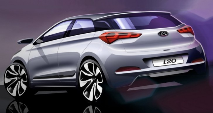 New Hyundai i20 exterior revealed, skips tech specs