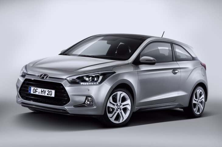 New Hyundai i20 facelift for 2015
