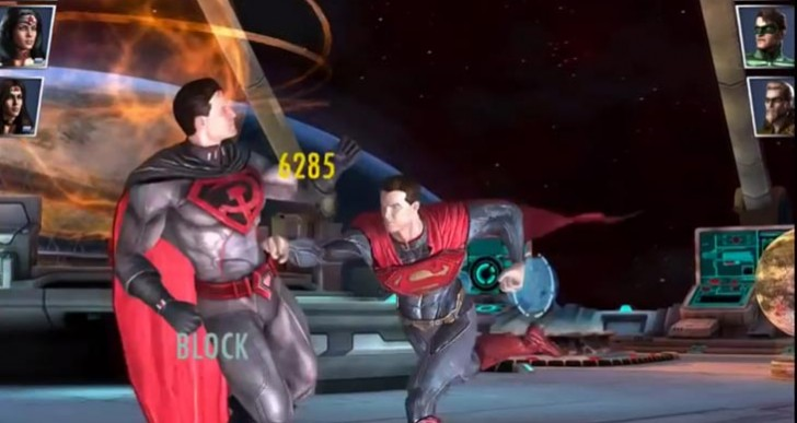 New Injustice iOS characters showcased