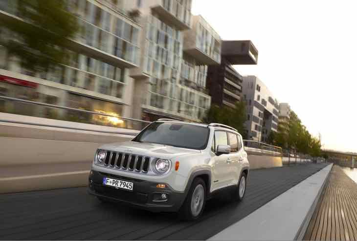 New Jeep Renegade Kumho tyre switch
