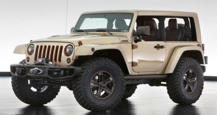 New Jeep Wrangler 2017 redesign