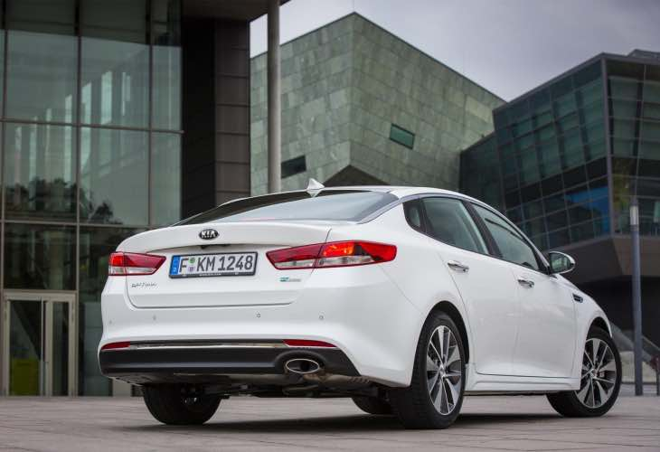 New Kia Optima UK model line-up