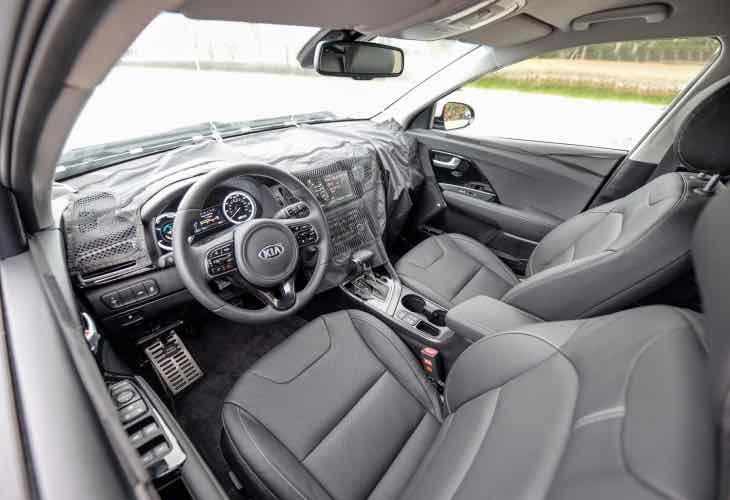 New Kia Optima hybrid
