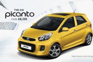 New Kia Picanto entry-level starting price