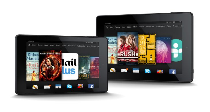 New Kindle Fire HD 6
