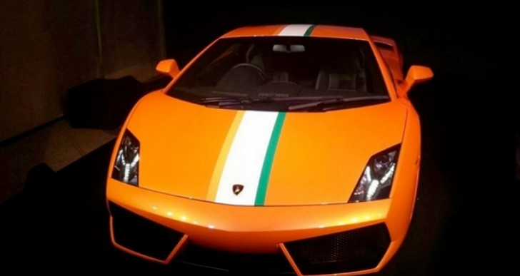 New Lamborghini Gallardo (LP550-2) price for India