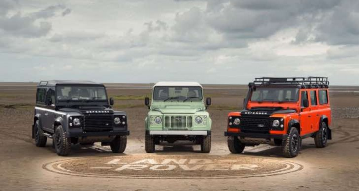New Land Rover Defender 2015 model range