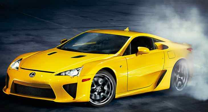 New Lexus LFA price