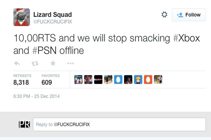 New-Lizard-Squad-Twitter-dictates-Xbox-status