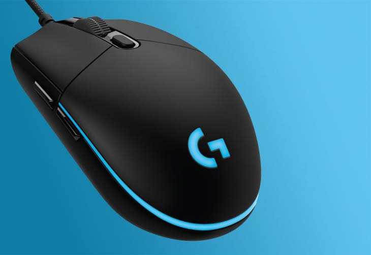 New-Logitech-pro-gaming-mouse