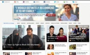 New MSN homepage lacks iPhone design