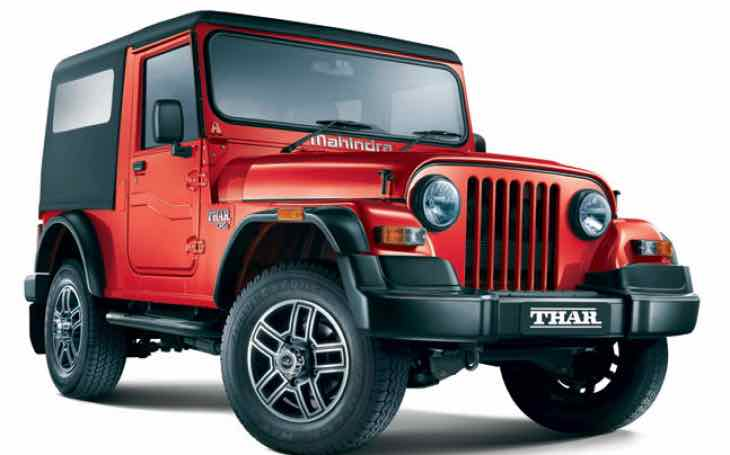 New Mahindra Thar customization options