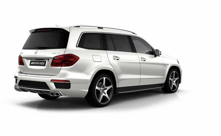 New Mercedes GLS 65 AMG