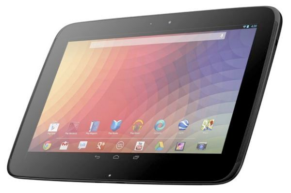 New Nexus 10 a minor refresh for 2nd generation