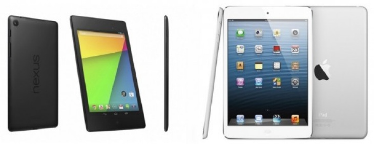 New Nexus 7 vs. iPad mini 2 review