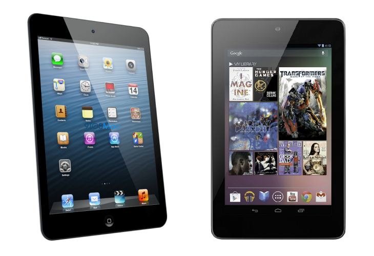 New Nexus 8 vs. iPad mini 3 without letterbox