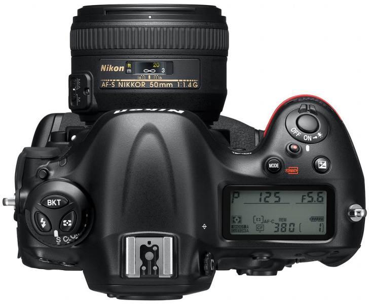 New Nikon D4S particulars