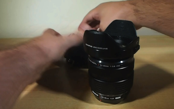 The new Olympus M. Zuiko Digital ED 12-40mm f/2.8 PRO lens in all its glory