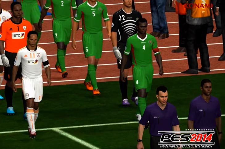 New PES 2014 PS3 patch needed for problems