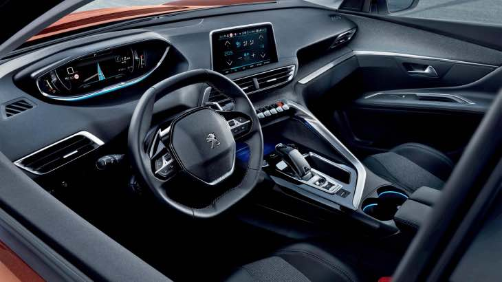 New Peugeot 3008 interior