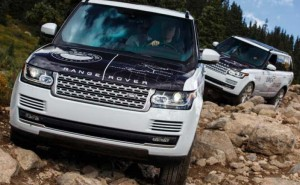 New Range Rover SVO extreme off-road models