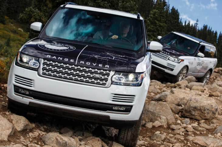 New Range Rover Svo Extreme Off Road Models Product