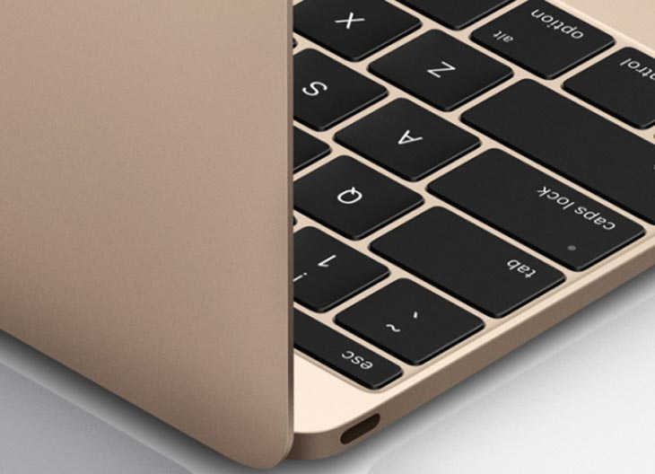 New MacBook Air keyboard after patent shock