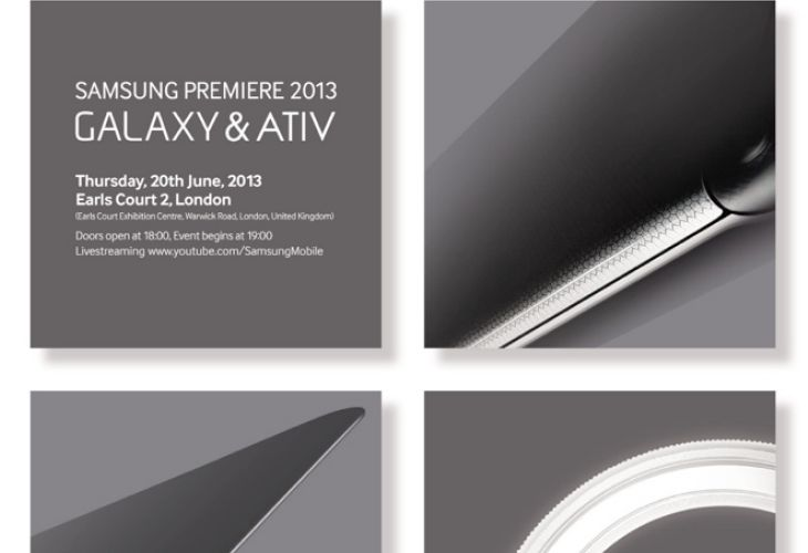 New Samsung Galaxy and Ativ devices to counter WWDC 2013
