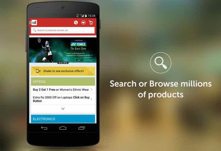 New Snapdeal mobile app launch this week