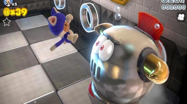 New Super Mario 3D World screenshots are stunning