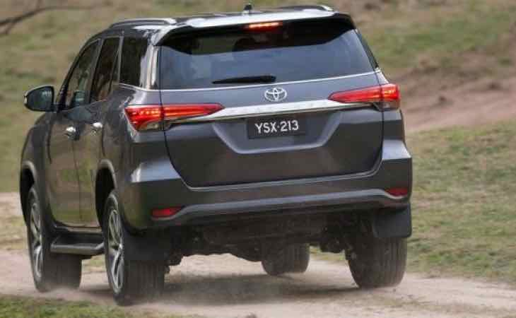 New Toyota Fortuner design for 2016