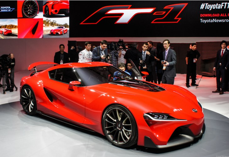 New Toyota Supra specs from FT-1 concept