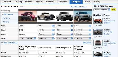 new truck comparisons 2011 vs 2012 side by side product reviews net. Black Bedroom Furniture Sets. Home Design Ideas