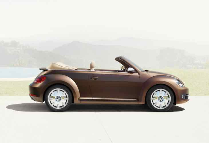 New VW Beetle Convertible in India