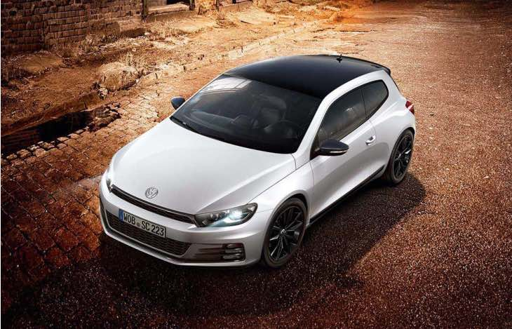 New VW Scirocco GT and R-Line Black Edition