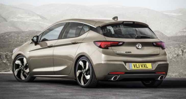 New Vauxhall Astra GSi to rival Ford Focus ST