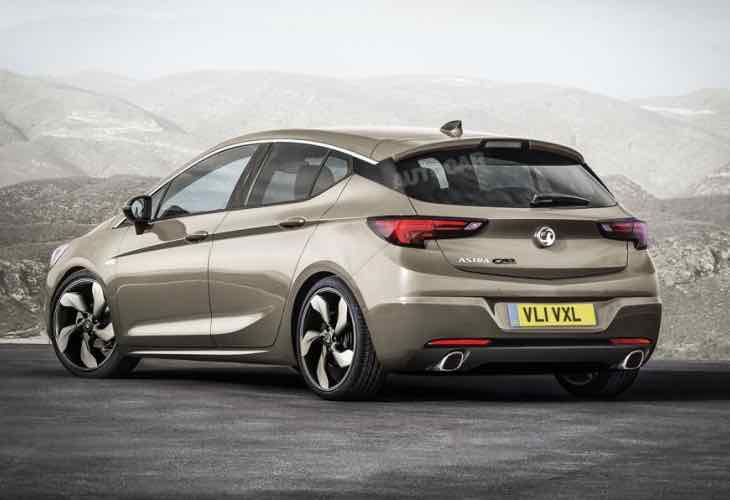 New Vauxhall Astra GSi