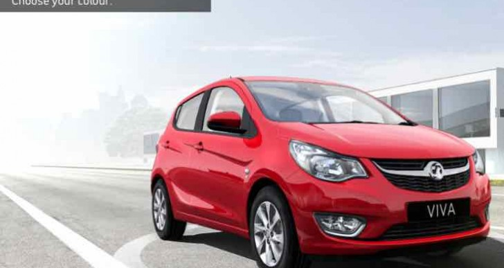 New Vauxhall Viva brochure download, price guide