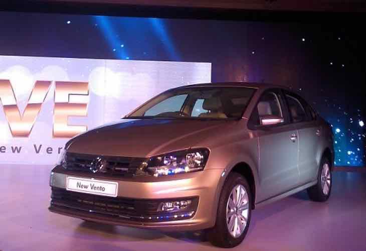 New Volkswagen Vento price in India