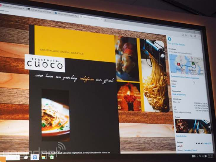 New Windows 10 browser reflects user's preference